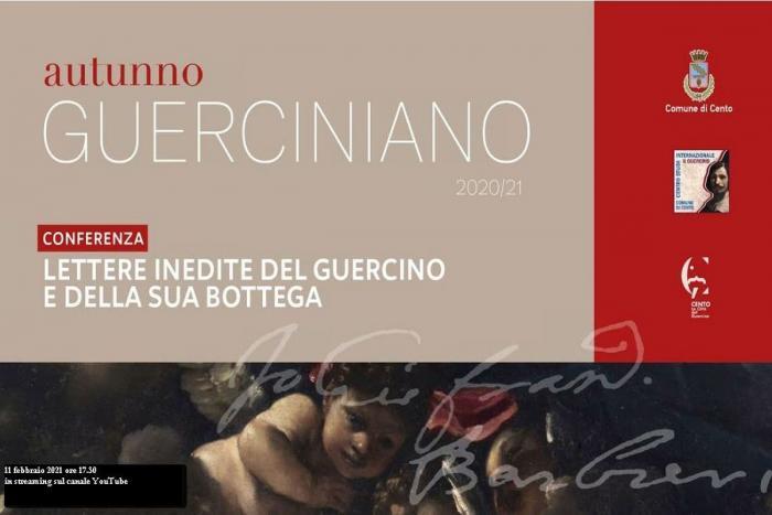 invito conferenza 11 febbraio 2021 con titolo e quadro Guercino