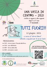locandina dell'evento con testo programma e partner aderenti e logo