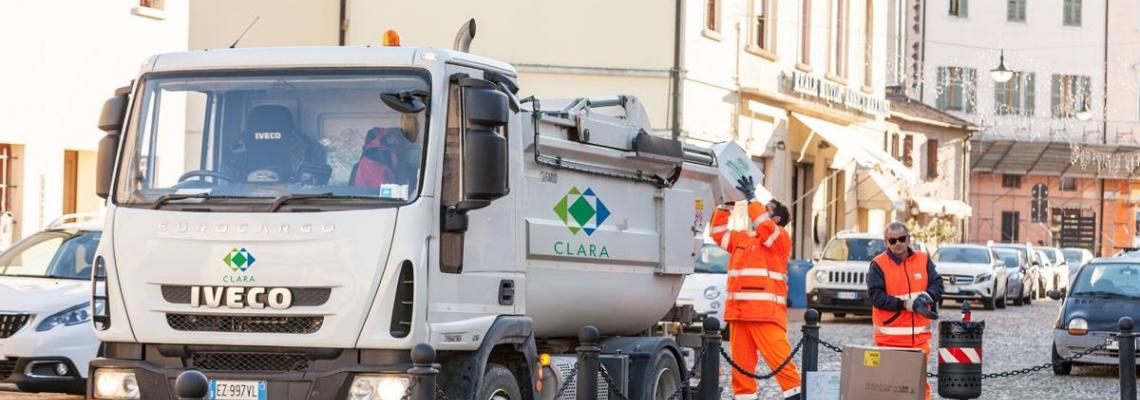 fotografia raccolta rifiuti di Clara