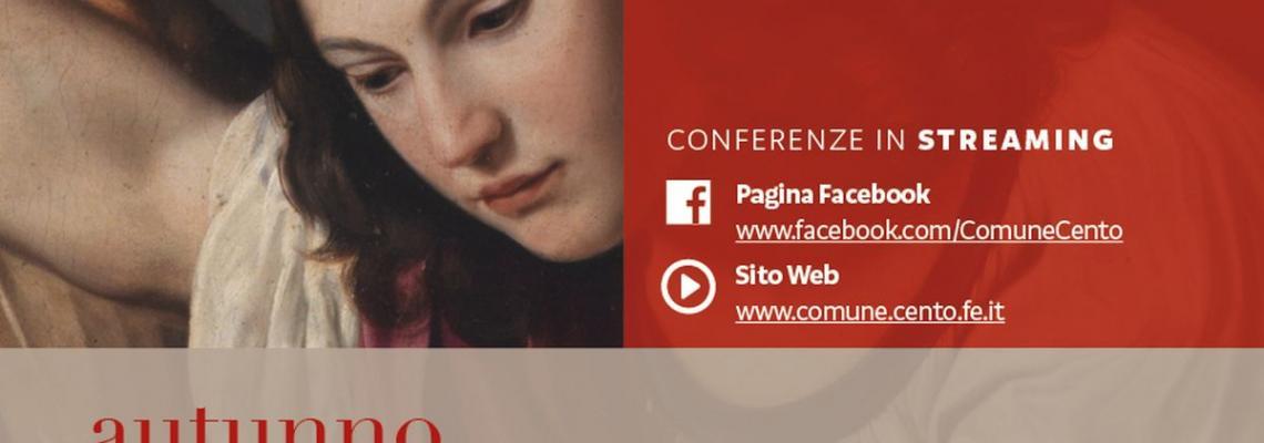 locandina invito conferenza del 16 gennaio con quadro Guercino