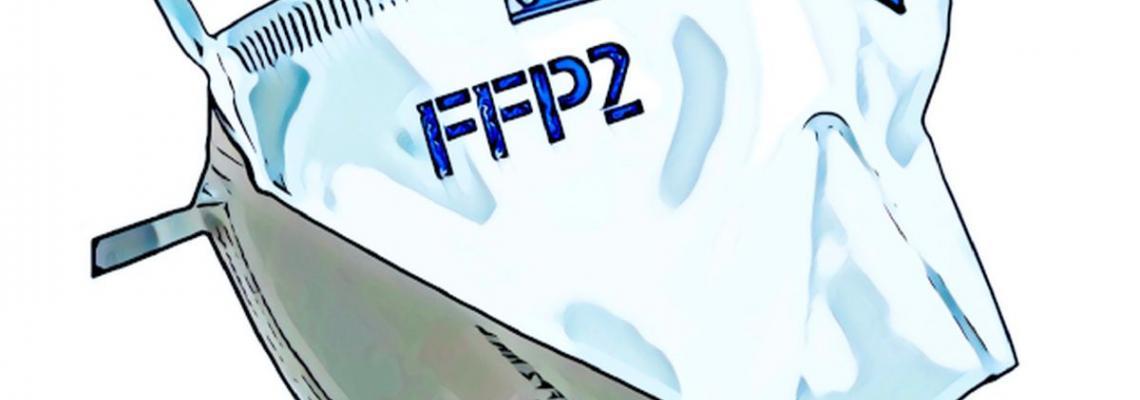 disegno mascherina ffp2