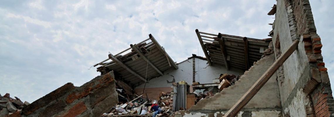 Macerie del terremoto